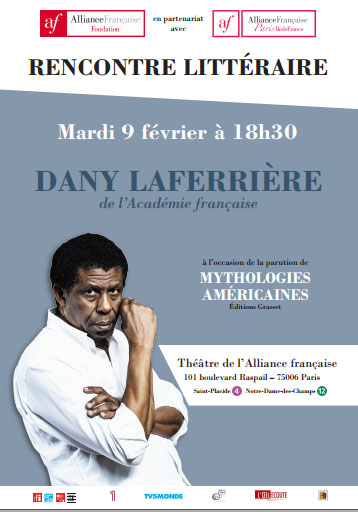 AFFICHE DANY LAFERRIERE