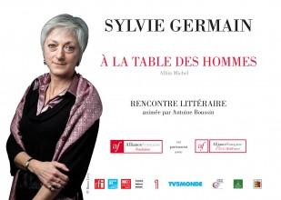 Invitation – Rencontre littéraire avec Sylvie Germain, le mardi 8 mars 2016, à 19h00
